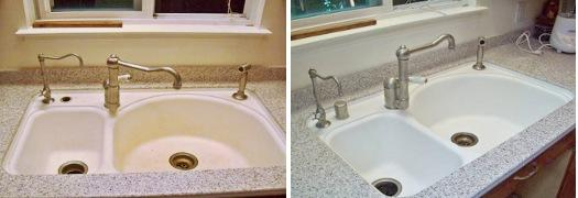 Reviews on counter repairs corian repairs zodiaq avonite for Avonite sinks